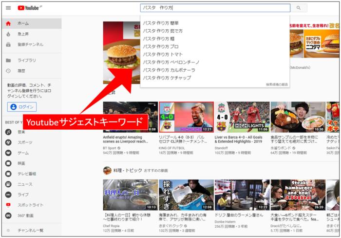 Youtube 検索 上位