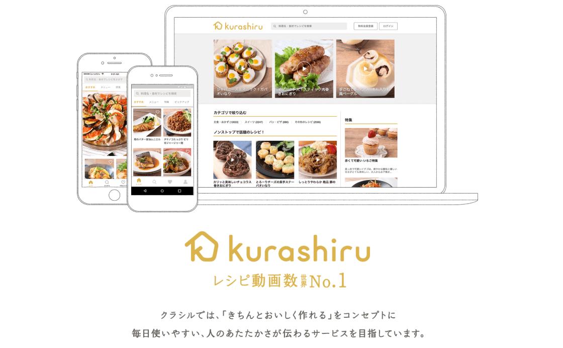 ソーシャルメディア、事例:Kurashiru