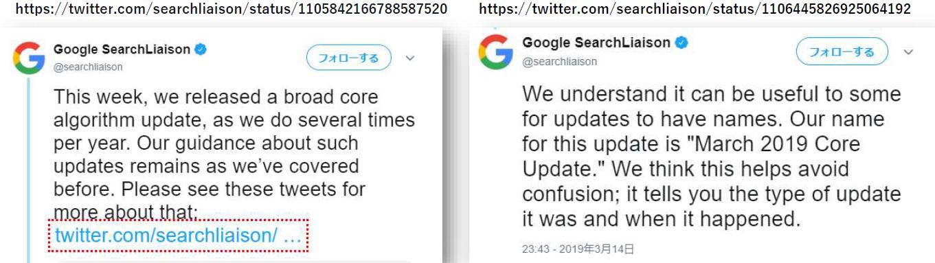 SERPs変動、CoreUpdate In March 2019